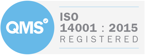 ISO-14001 : 2015 Registered